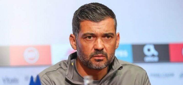 Sérgio Conceição em antevisão de um jogo do FC Porto